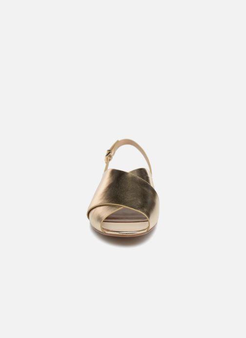 Sandales et nu-pieds Aldo BEZIO_U Or et bronze vue portées chaussures