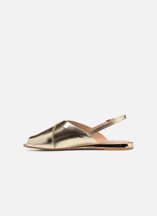 Sandales et nu-pieds Aldo BEZIO_U Or et bronze vue face