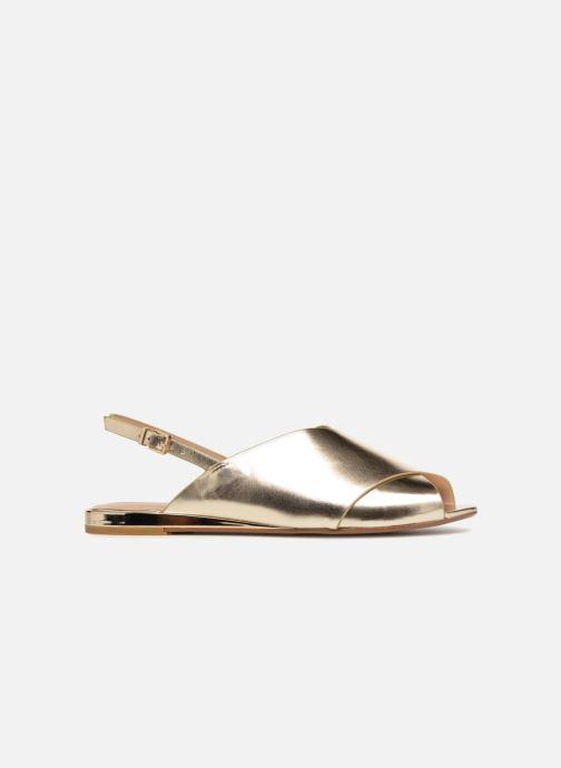 Sandales et nu-pieds Aldo BEZIO_U Or et bronze vue derrière