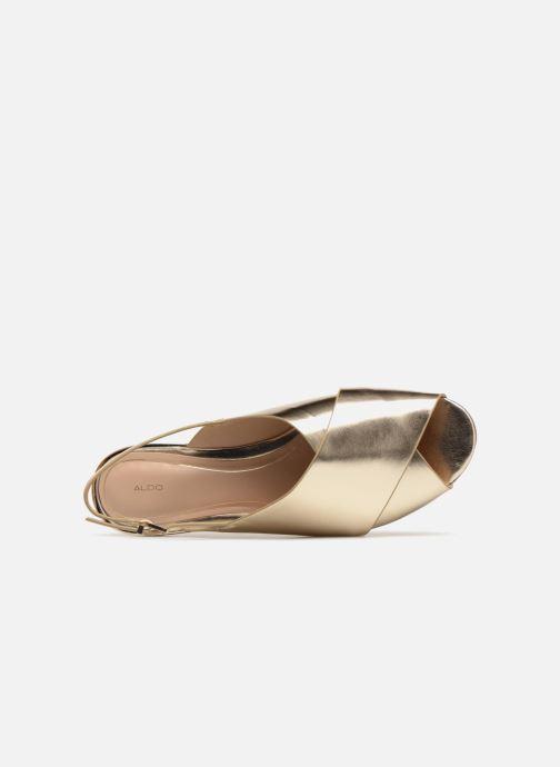 Sandales et nu-pieds Aldo BEZIO_U Or et bronze vue gauche