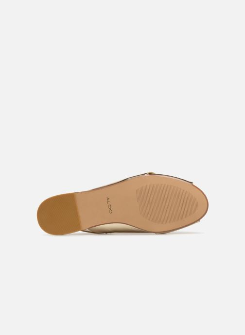 Sandales et nu-pieds Aldo BEZIO_U Or et bronze vue haut