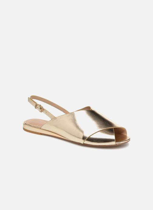 Sandales et nu-pieds Aldo BEZIO_U Or et bronze vue détail/paire