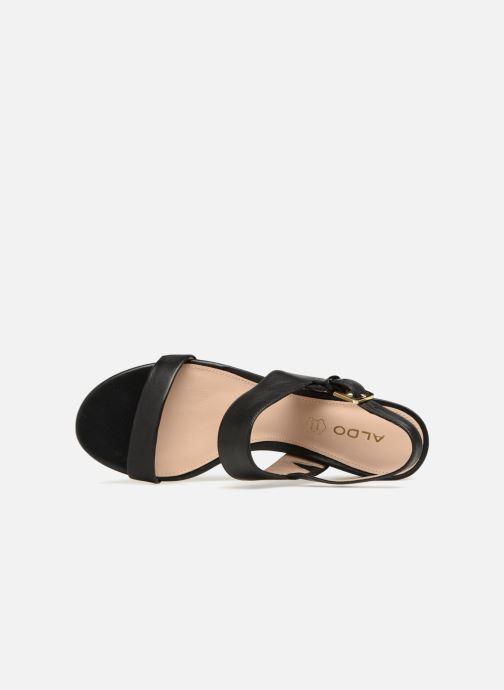 Sandales et nu-pieds Aldo BRANDEY Noir vue gauche