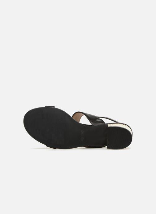 Sandales et nu-pieds Aldo BRANDEY Noir vue haut