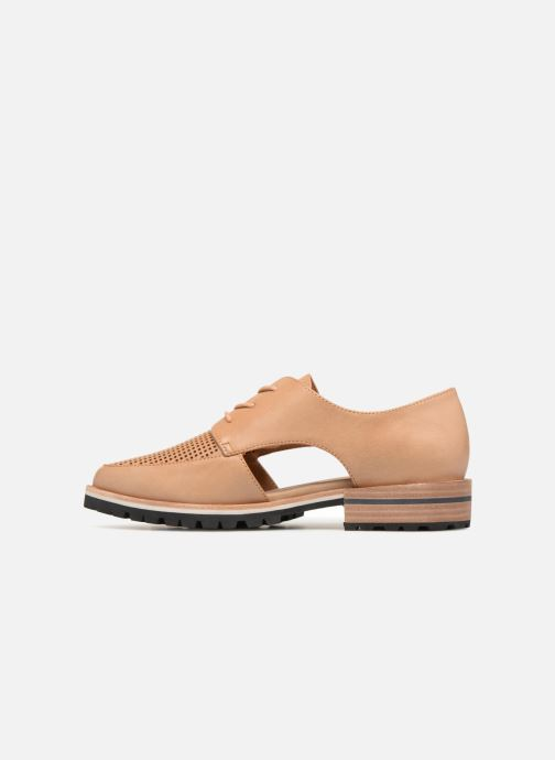 Chaussures à lacets Aldo CAMUNO Marron vue face