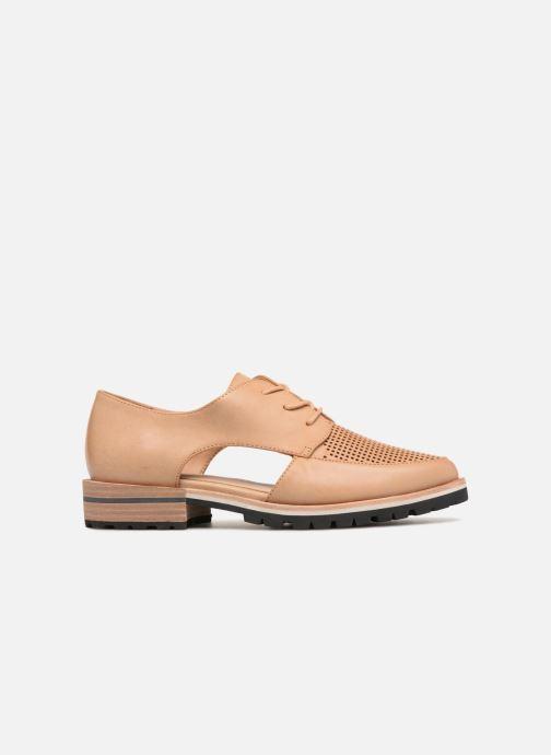 Chaussures à lacets Aldo CAMUNO Marron vue derrière