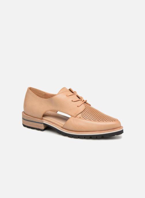 Chaussures à lacets Aldo CAMUNO Marron vue détail/paire