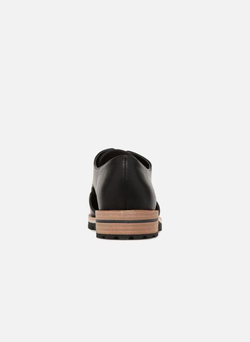 Chaussures à lacets Aldo CAMUNO Noir vue droite