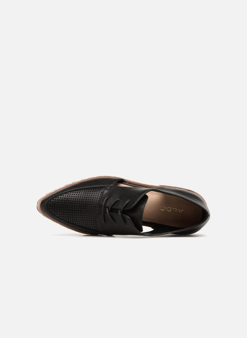 Chaussures à lacets Aldo CAMUNO Noir vue gauche