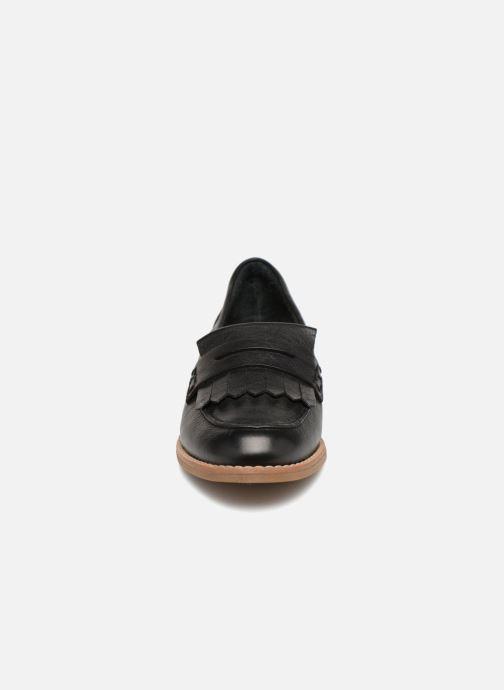 Mocassins Aldo CAPRONI Noir vue portées chaussures