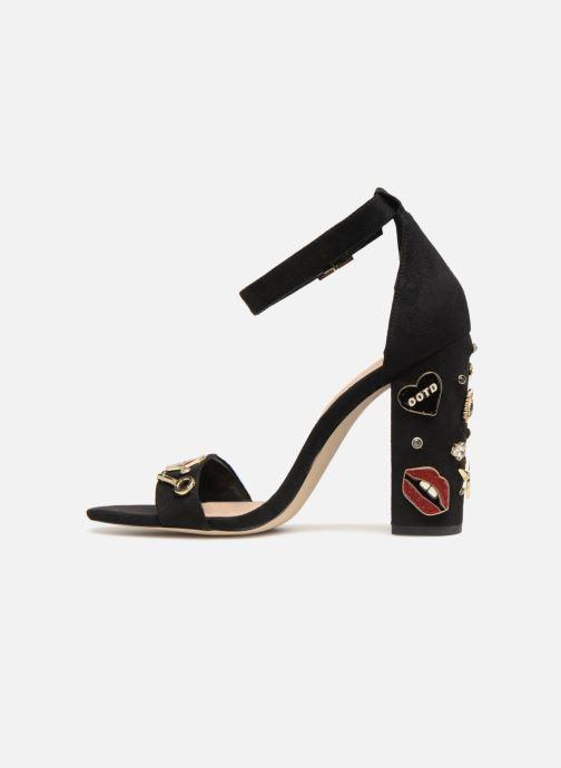 Sandales et nu-pieds Aldo LARELLE Noir vue face