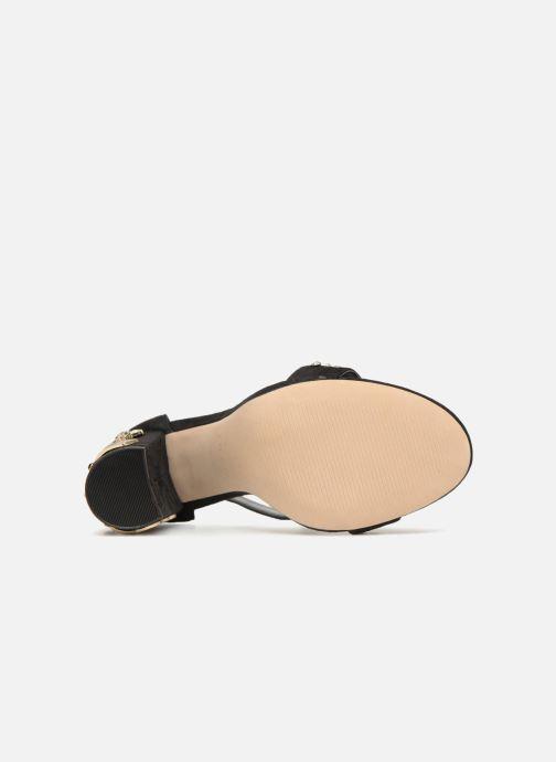Sandales et nu-pieds Aldo LARELLE Noir vue haut