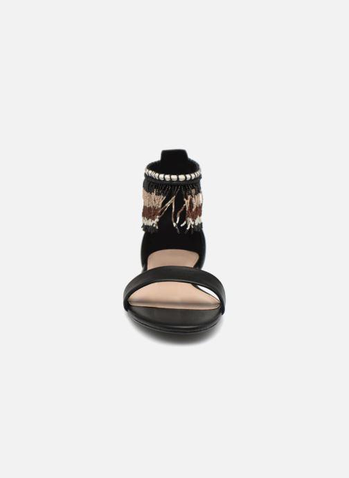 Sandales et nu-pieds Aldo LARYSA Noir vue portées chaussures