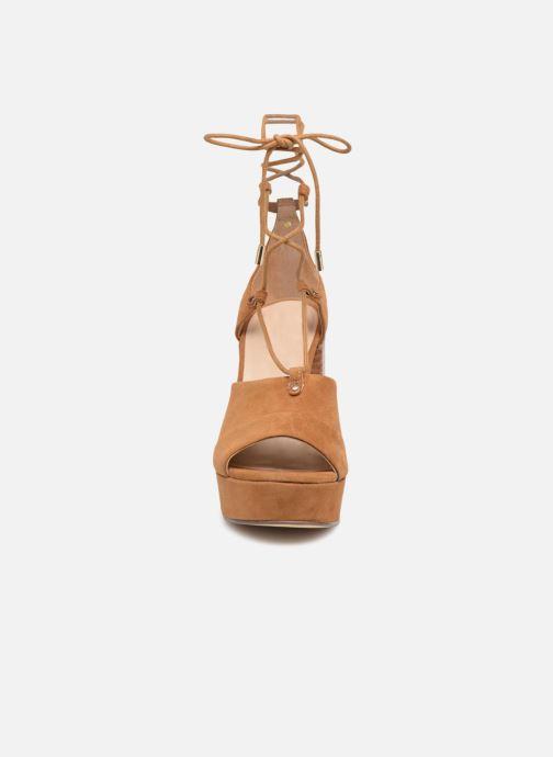 Sandales et nu-pieds Aldo LAYMA Marron vue portées chaussures