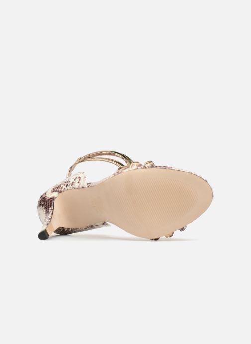 Sandales et nu-pieds Aldo LEINAN Beige vue haut
