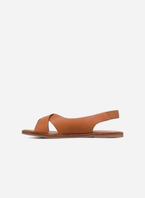 Sandales et nu-pieds Aldo MINSIE Marron vue face