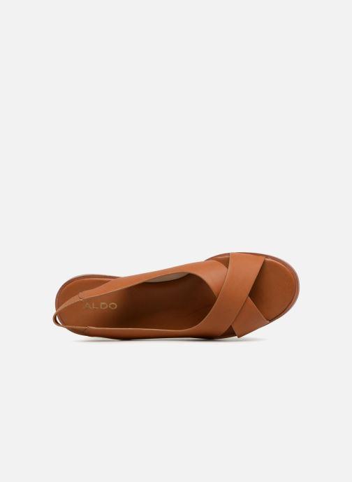 Sandales et nu-pieds Aldo MINSIE Marron vue gauche