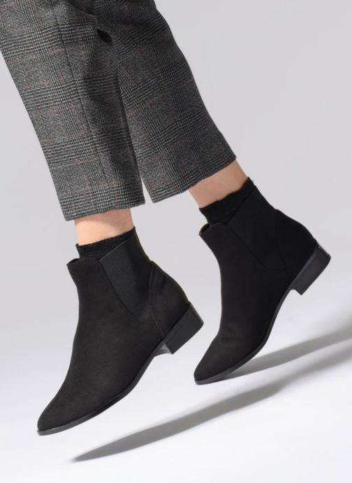 Bottines et boots Aldo NYDIA Noir vue bas / vue portée sac