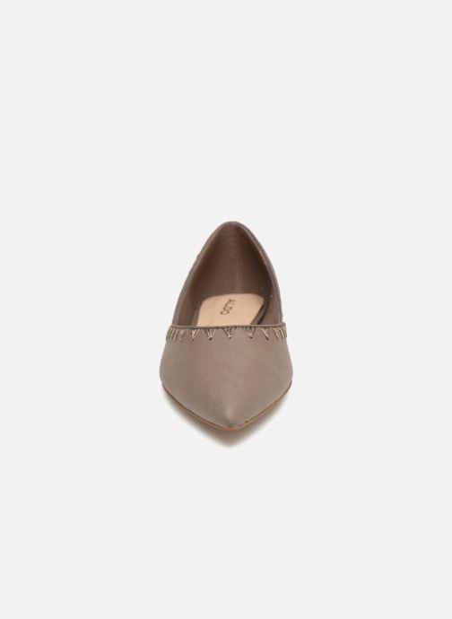 Ballerines Aldo ROLDANILLO Marron vue portées chaussures
