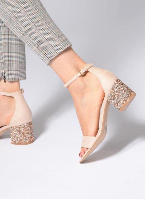 Sandales et nu-pieds Aldo VICTORIAA Rose vue bas / vue portée sac