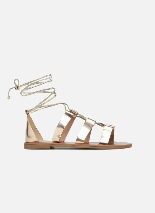 Sandales et nu-pieds Aldo XAVIERRA Or et bronze vue derrière