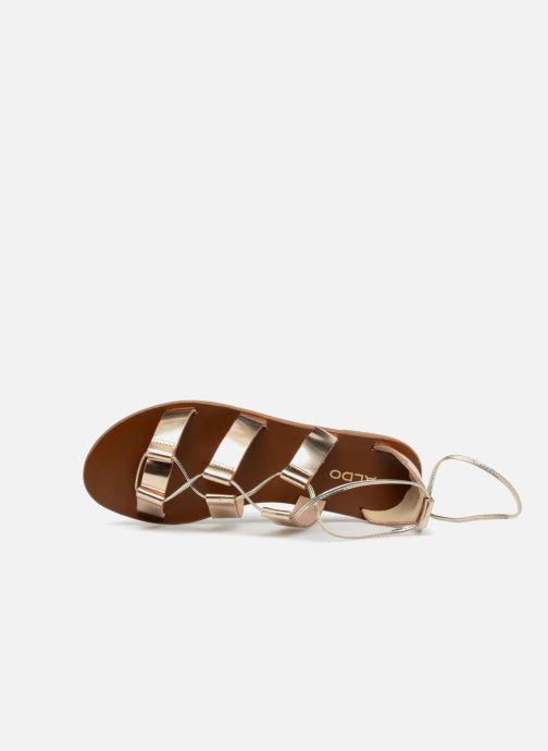 Sandales et nu-pieds Aldo XAVIERRA Or et bronze vue gauche