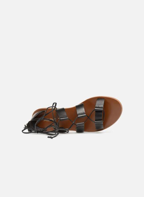 Sandales et nu-pieds Aldo XAVIERRA Noir vue gauche
