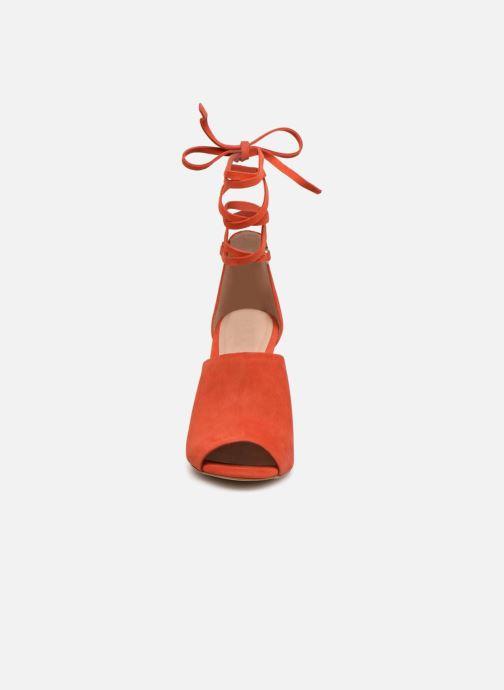Escarpins Aldo ZELIA Rouge vue portées chaussures