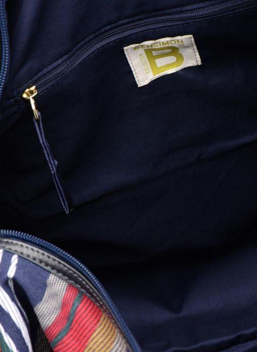 Sacs de sport Bensimon AUTHENTIC LINE BUNDLE BAG Multicolore vue derrière
