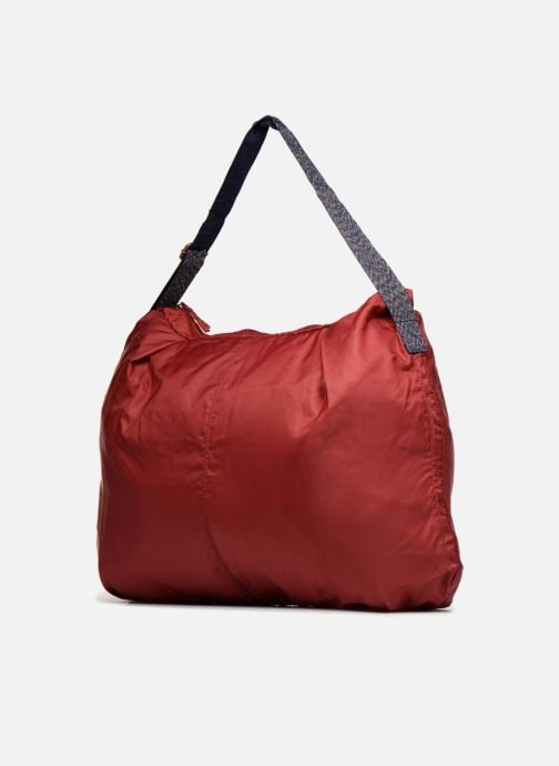 Bolsos de mano Bensimon COLOR LINE SHOULDER BAG Vino vista lateral derecha