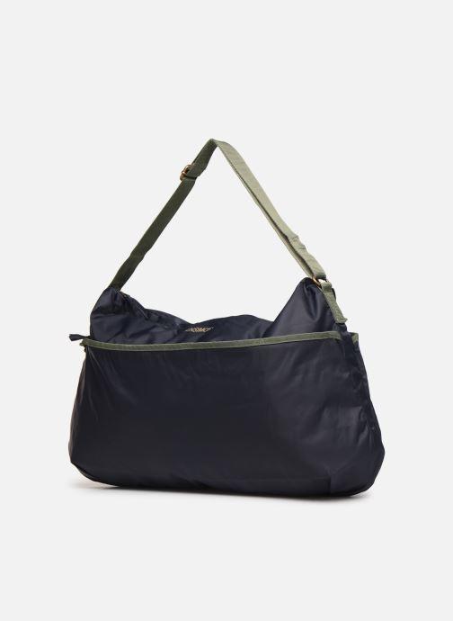 Sacs à main Bensimon COLOR LINE SHOULDER BAG Bleu vue portées chaussures
