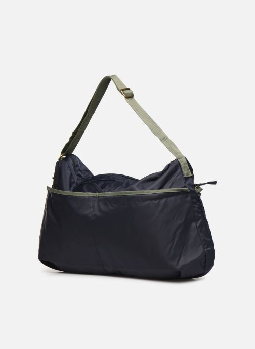 Handbags Bensimon COLOR LINE SHOULDER BAG Blue view from the right