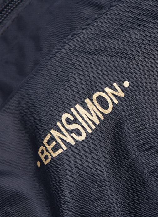 Sacs à main Bensimon COLOR LINE SHOULDER BAG Bleu vue gauche