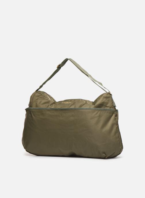 Sacs à main Bensimon COLOR LINE SHOULDER BAG Vert vue portées chaussures