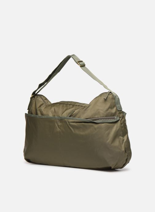 Handbags Bensimon COLOR LINE SHOULDER BAG Green view from the right