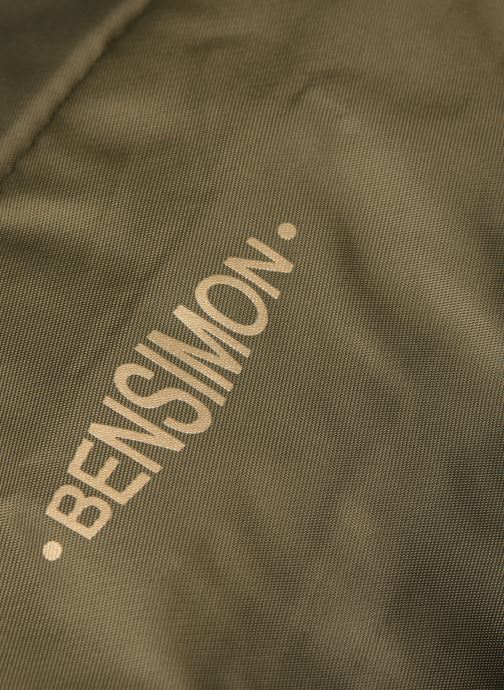 Handbags Bensimon COLOR LINE SHOULDER BAG Green view from the left