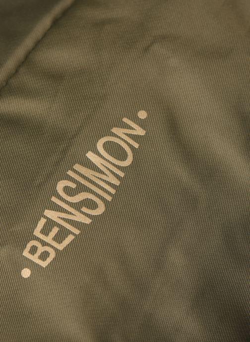 Borse Bensimon COLOR LINE SHOULDER BAG Verde immagine sinistra