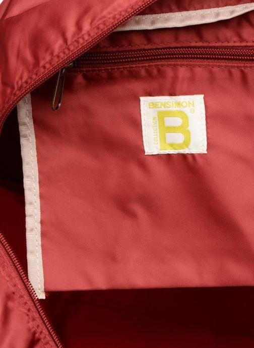 Sporttassen Bensimon COLOR LINE SPORT BAG Bordeaux achterkant