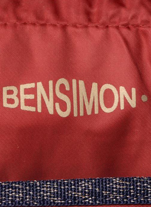 Sporttassen Bensimon COLOR LINE SPORT BAG Bordeaux links