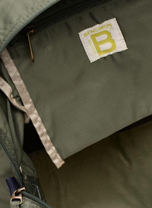 Sporttassen Bensimon COLOR LINE SPORT BAG Groen achterkant