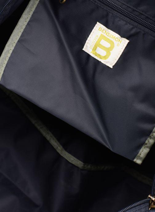 Sacs de sport Bensimon COLOR LINE SPORT BAG Bleu vue derrière