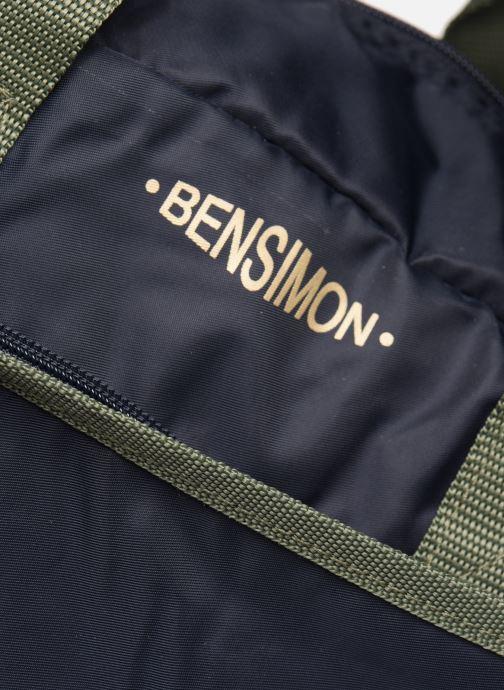 Sacs de sport Bensimon COLOR LINE SPORT BAG Bleu vue gauche