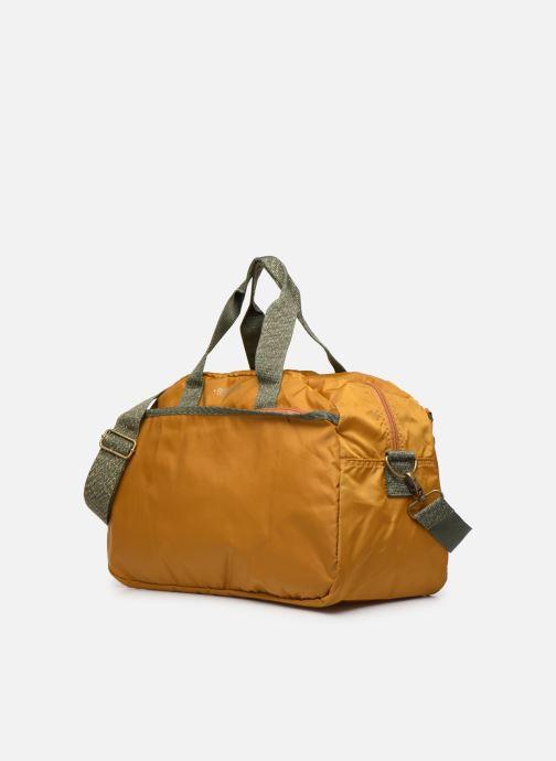 Sporttaschen Bensimon COLOR LINE SPORT BAG gelb schuhe getragen