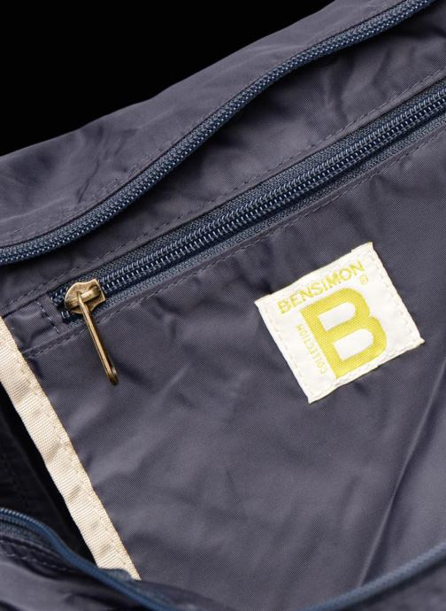 Sporttassen Bensimon COLOR LINE COLOR BAG Blauw achterkant