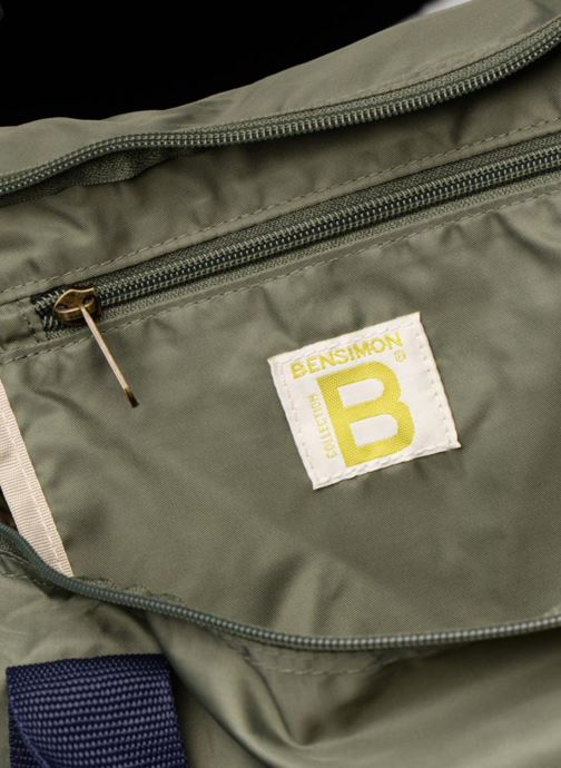 Sporttassen Bensimon COLOR LINE COLOR BAG Groen achterkant