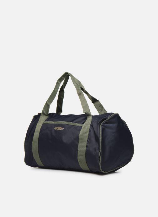 Bagages Bensimon COLOR LINE COLOR BAG Bleu vue portées chaussures