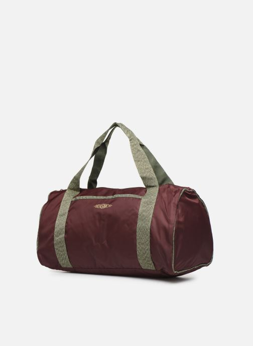 Sporttaschen Bensimon COLOR LINE COLOR BAG lila schuhe getragen
