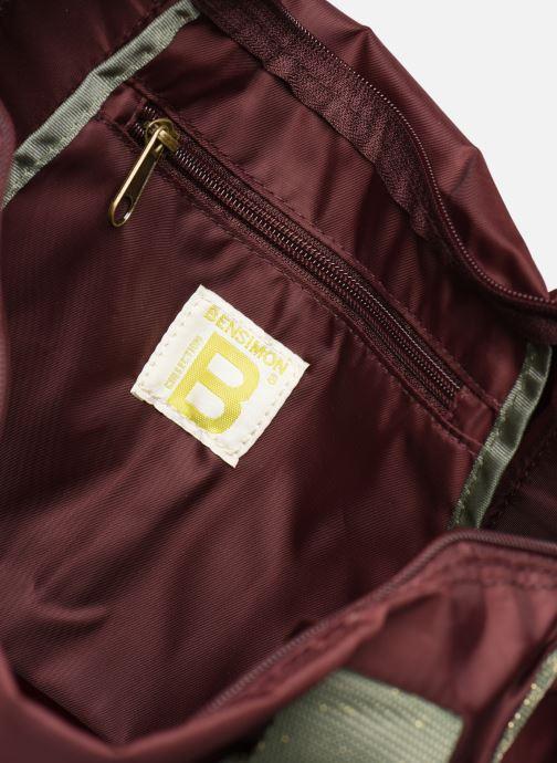 Sporttaschen Bensimon COLOR LINE COLOR BAG lila ansicht von hinten