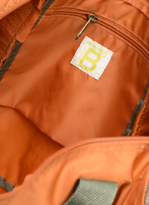 Borsa da palestra Bensimon COLOR LINE COLOR BAG Marrone immagine posteriore