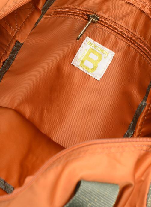 Sporttassen Bensimon COLOR LINE COLOR BAG Bruin achterkant